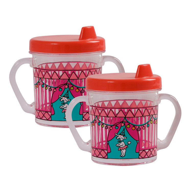 Girls Plastic Trainer Cup 2 Pack