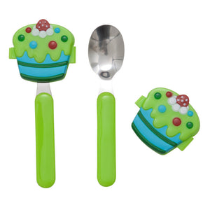 Boys Cake Spoon And Fork 4 Pack