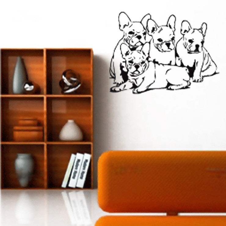 French Bulldog Decal II