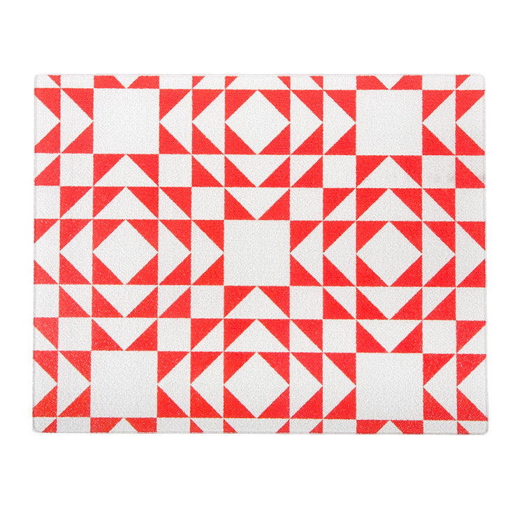 Patchwork Board Large Red