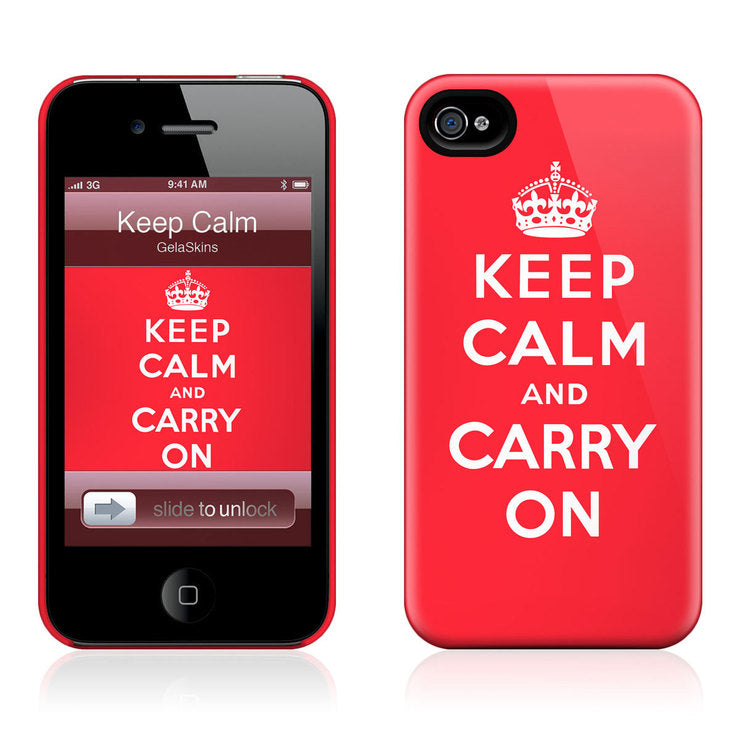 Keep Calm iPhone 4/4S Case