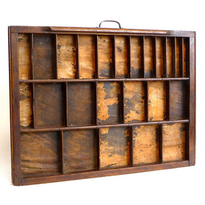 Industrial Wood Type Drawer
