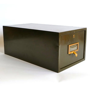 Industrial Index Card Box