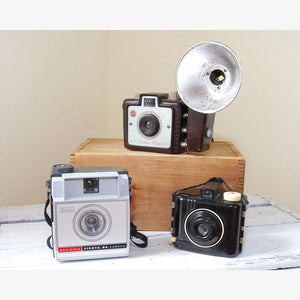 Brownie Camera Trio