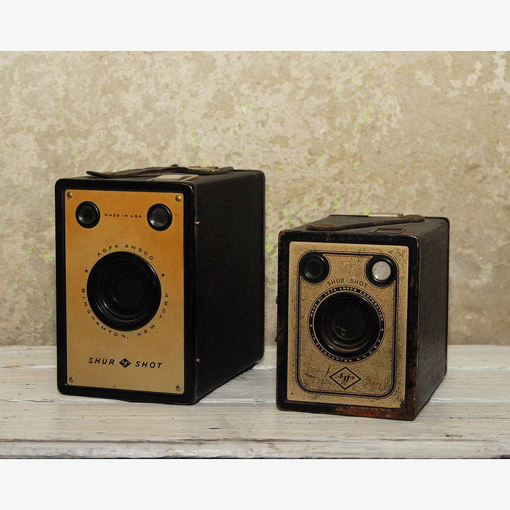 Agfa Shur-Shot Box Camera Pair