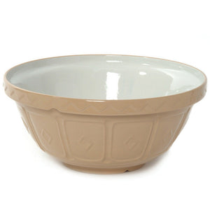 Mixing Bowl 14\ Tan""
