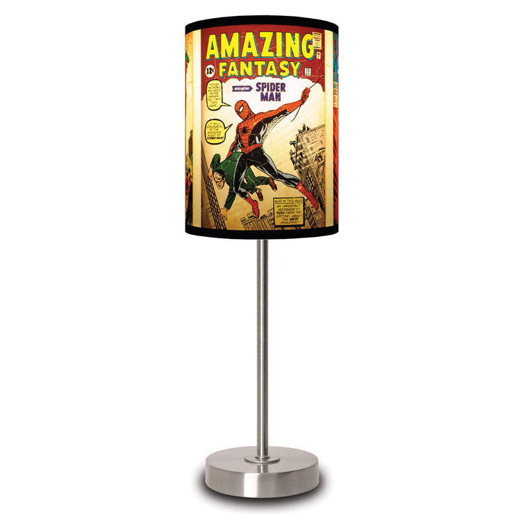 Spider-Man Covers Lamp
