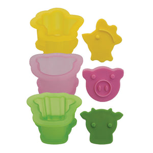 Ice Cream Sammy Mold Animals 3Pk