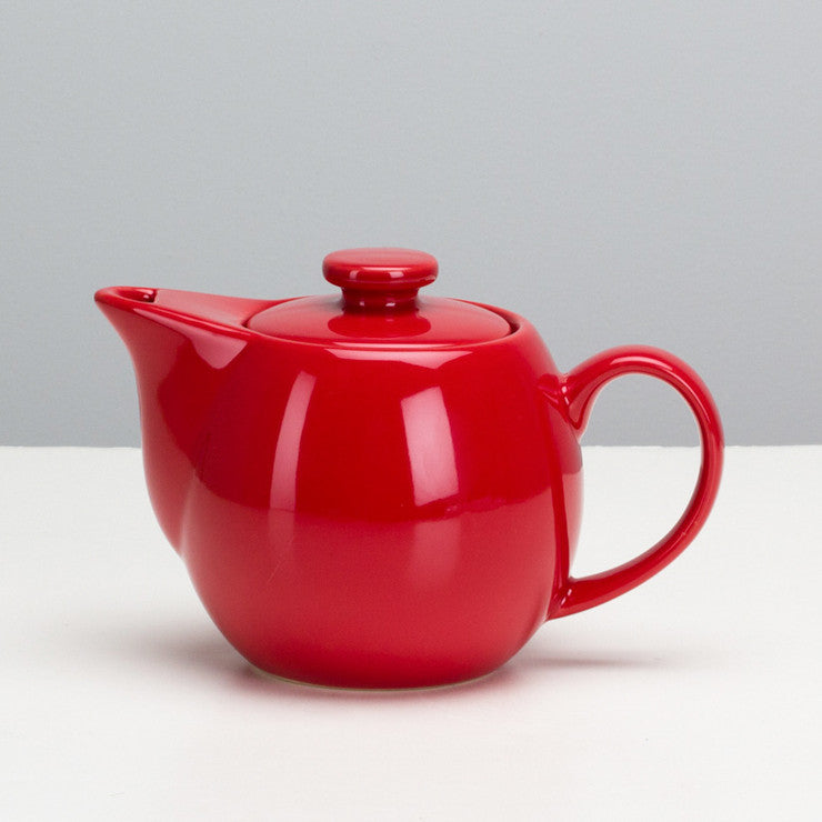 Infuser Teapot 14oz Red