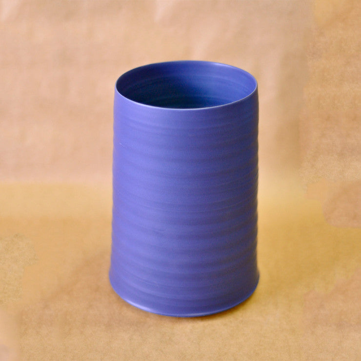 Cold Mountain Vase Med Blue