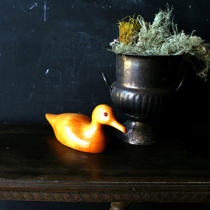 Carved Duck