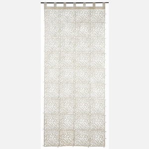 Baroque Felt Panel-Ivory
