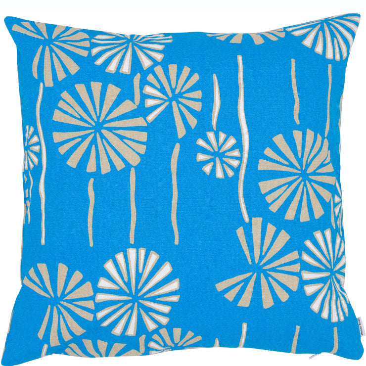 Garden Pillow Blue