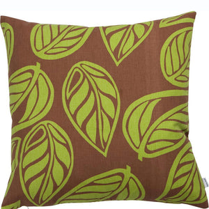 Leaves Pillow Green