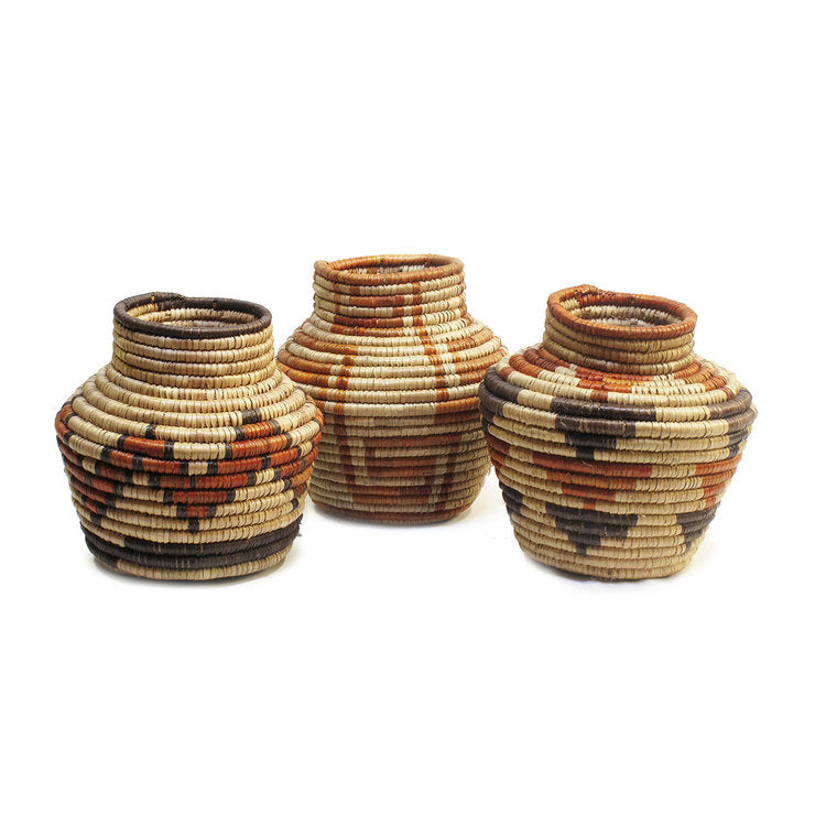 Zara Basket Jar Set Of 3