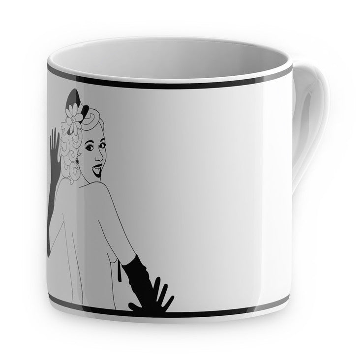 Burlesque Mug Peaches