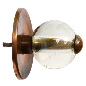 Belgian Glass Door Pull Small