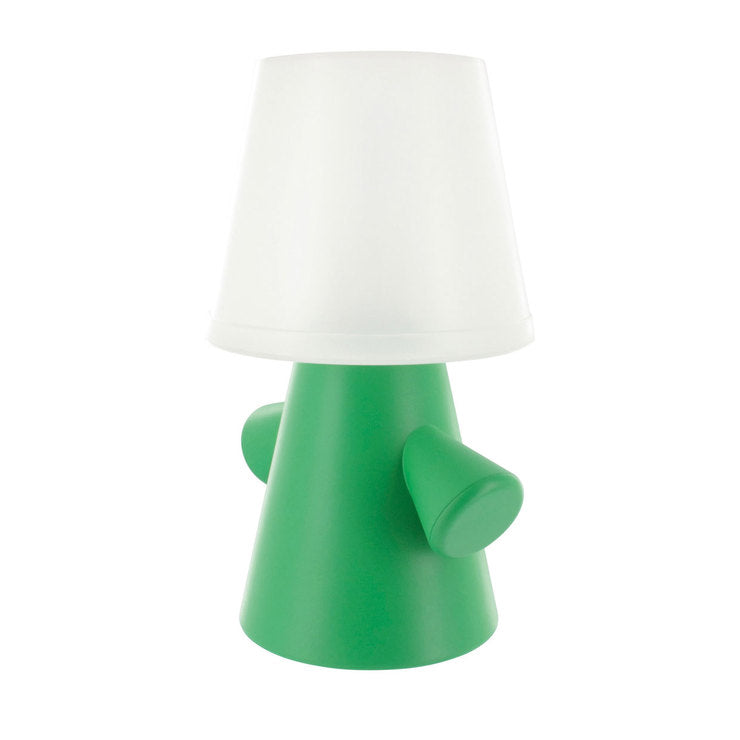 Greenman Solar Lamp White Green