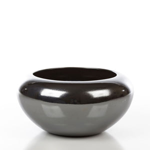 Deco Bowl Black Gloss