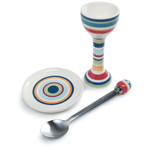 Egg Set Striped