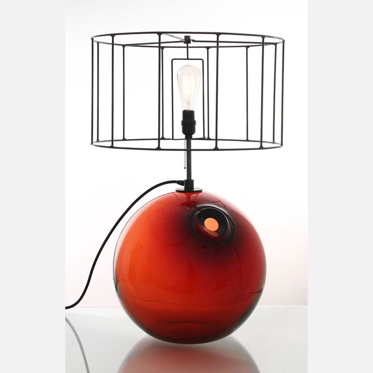 Float Table Lamp Red