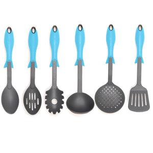 Gourmet Utensil Blue 6 Pack