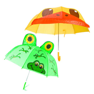 Frog & Duck Umbrellas Set Of 2