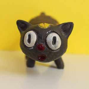 Ceramic Scaredy-Cat