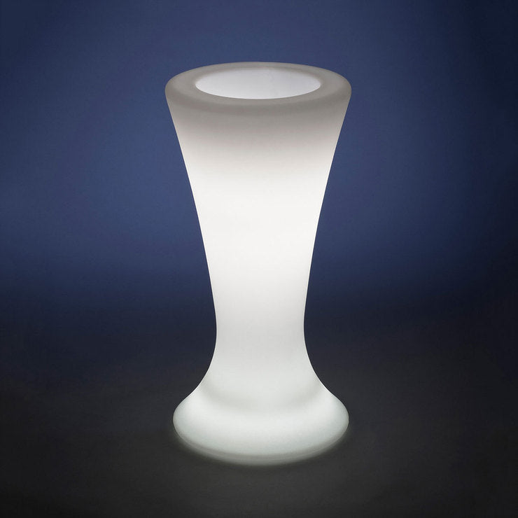 Flute Illuminated Table Natural