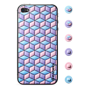 Cubic Pink iPhone 4/4S Foam Pad