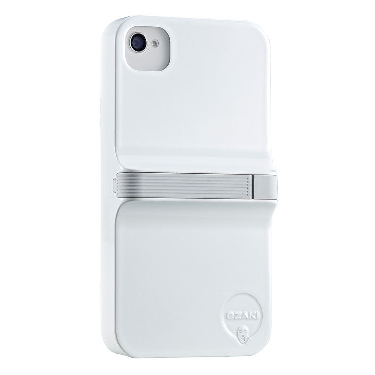 Finger Case iPhone 4/4S Wht Gry