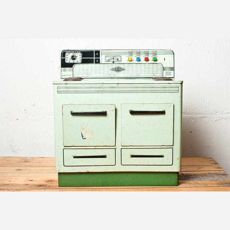 1950s Wolverine Metal Play Stove