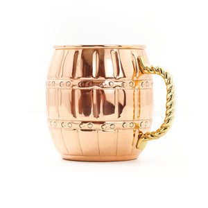 Barrel Moscow Mule Mug 4 Pack