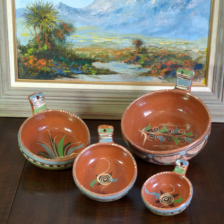 Graduated Mexican Bowls 4Pc