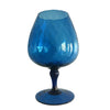 Optic Goblet Medium Blue