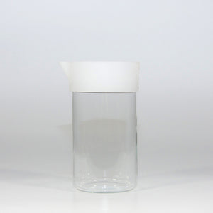 Cup & Store Glass 1L White