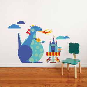 Dragon Tea Party Decal Multi