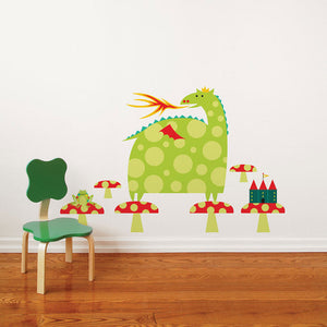 Country Dragon Decal Multi