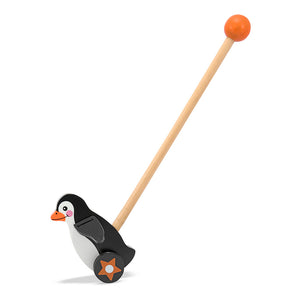 Flapping Penguin Push Toy