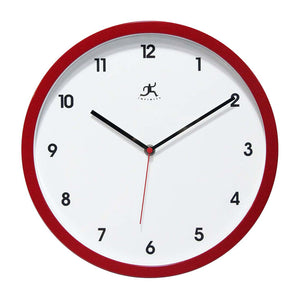 Cirrus Clock Red