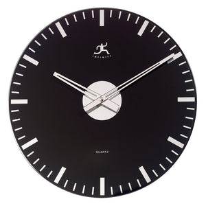 Knight Clock Black