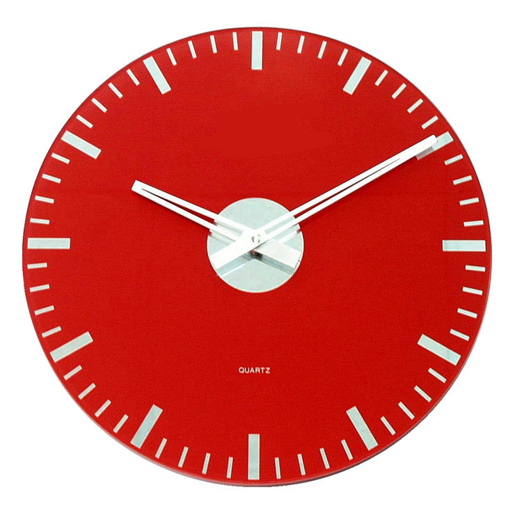 Knight Clock Red