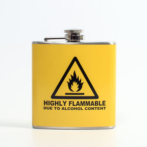 Highly Flammable Flask