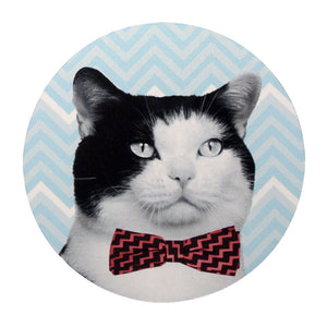 Bow Tie Kitty Mouse Pad