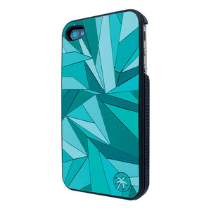 iPhone 4/4S Case Fracture Teal