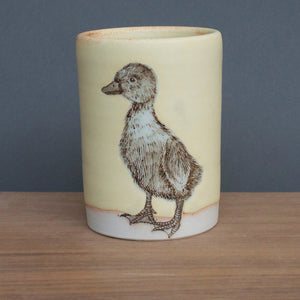 Duck Tumbler Large Yellow