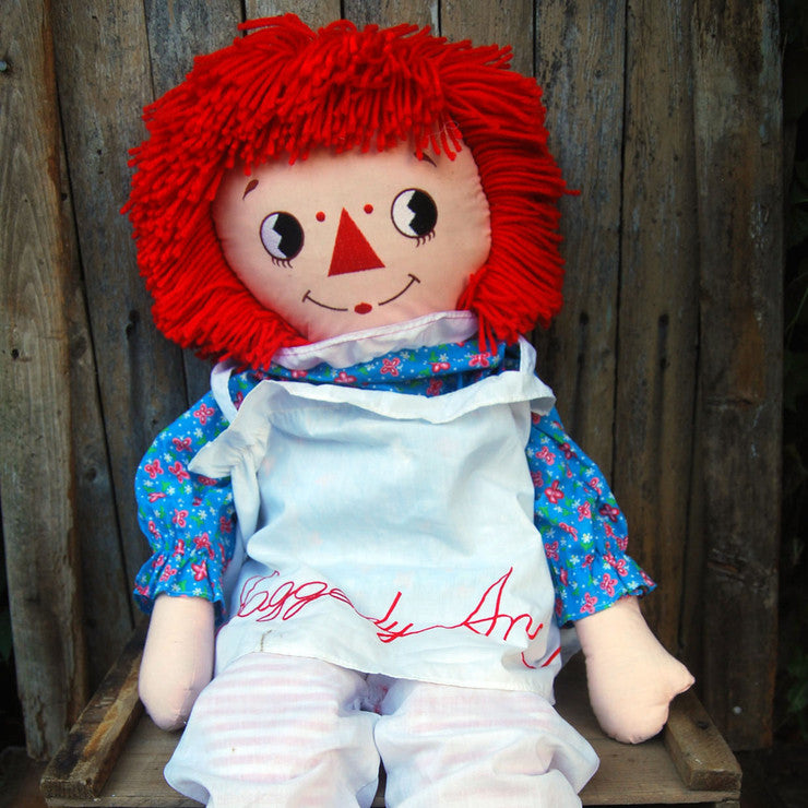 Giant Raggedy Ann Doll
