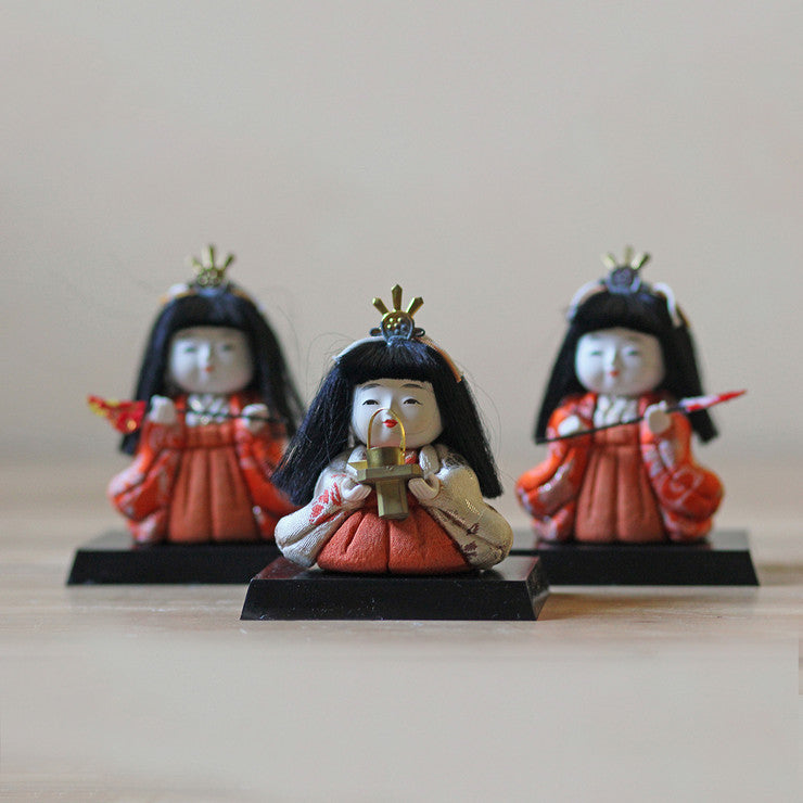 Japanese Dolls Set of 3 II