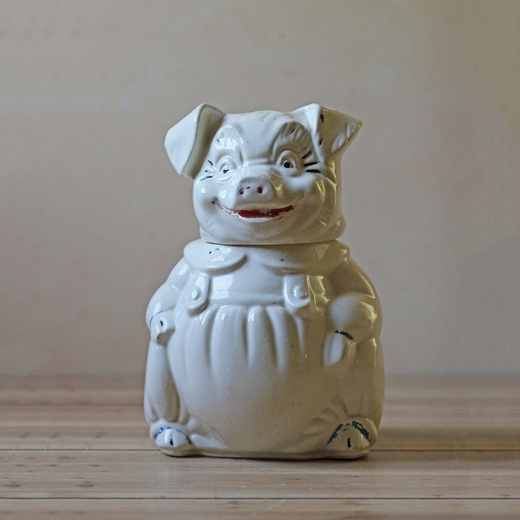 Ceramic Pig Cookie Jar