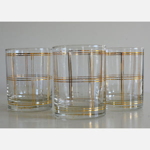 60s Georges Briard Glasses Trio